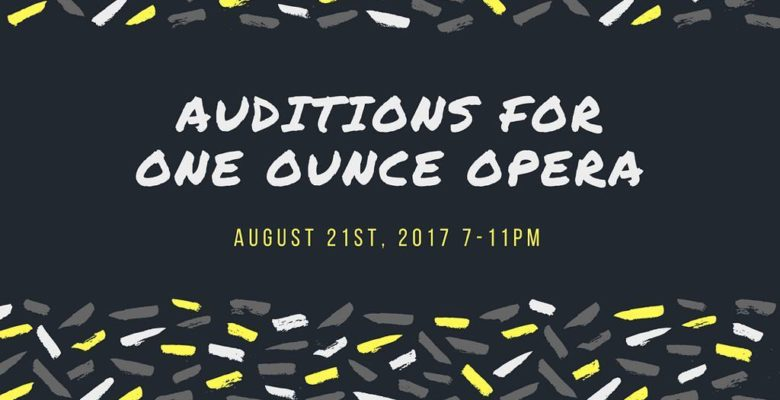 Mark your calendar! Coming soon! Details on our Facebook pg (oneounceopera). #opera #auditions #austin