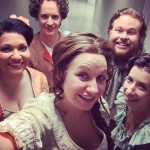 Lookie! OOO Members represent! Backstage at AustinOpera getting ready forhellip