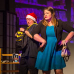 """Andy Fleming and Jenny Ohrstrom in """"Ho! Ho! Ho!,"""" FSOO 2017. Photo by Roy Moore/Control Images"""